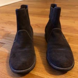Cole Haan Brown Suede Waterproof Ankle Booties